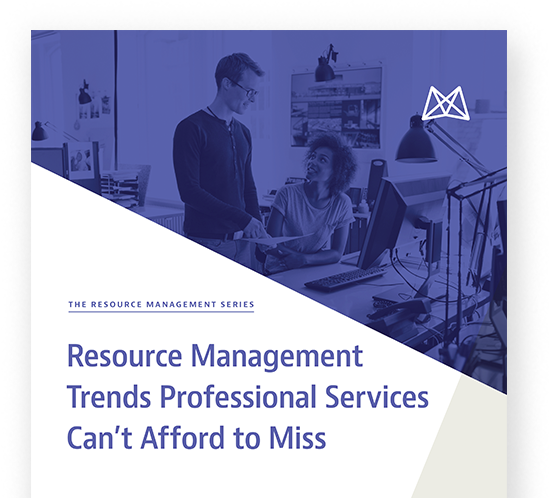 Resource Management Trends for Professional Services