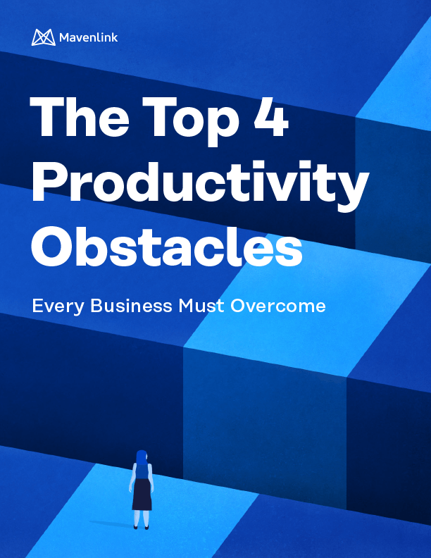 Top 4 Productivity Obstacles